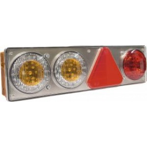 OΠΙΣΘΙΟΣ ΦΑΝΟΣ LED 6 ΛΕΙΤΟΥΡΓΙΩΝ ΣΕΙΡΑ DSL-2200 24V